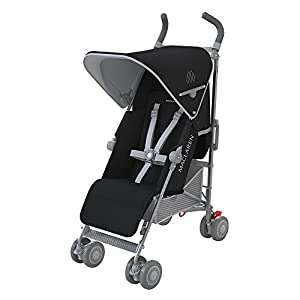 Maclaren Quest - Silla de paseo, nueva colección, color negro y plata