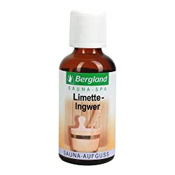 Bergland Sauna-Aufguss Limette-Ingwer, 1er Pack (1 x 50 ml)