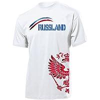RUSSLAND FANSHIRT - Herren T-Shirt Gr.S bis XXL - Golebros