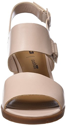 Clarks Damen Kurtley Shine Slingback Sandalen Pink Dusty Pink ... 3a81745183