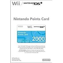Nintendo Points Card 2000 - cajas de video juegos y accesorios