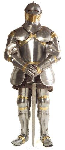 r in Rüstung Aufsteller Standup Figur Kinoaufsteller Pappfigur Cardboard Lebensgroß Life-Size Standup ()