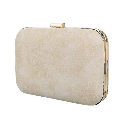 Ital-DesignClutch-tasche Bei Ital-design - Clutch Donna , beige (Beige), taglia unica