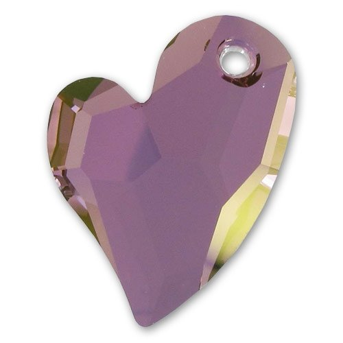Swarovski Devoted 2 U 6261 Herz 17mm Crystal Lilac Shadow x1 -