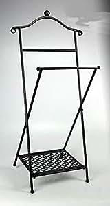 Idée Maison: VALET DE CHAMBRE en fer forgé. Mesures 47x36x100