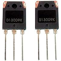 Gazechimp 2 piezas Transistor de Potencia D13009K NPN Conmutación Fuente de Alimentación Potencia Computadora