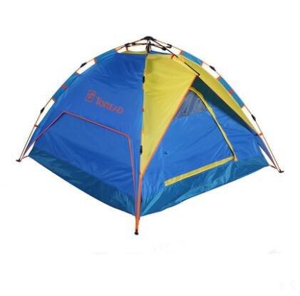 Outdoor Camping Camping Ausrüstung, 3–4Personen ein Schlafzimmer Hydraulische Automatische Öffnung Zelten (Pop-up-camper-ausrüstung)