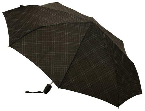 Knirps Fiber T2Duomatic ombrello pieghevole automatico di apertura e chiusura [Type] da uomo grigio stampa KNF878-705(Japan Import)