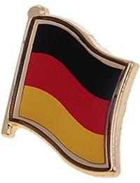 Gazechimp Drapeau National Pin's Broche Insigne Métallique Accessoire Décoration pour Vêtement Cravate Chapeau