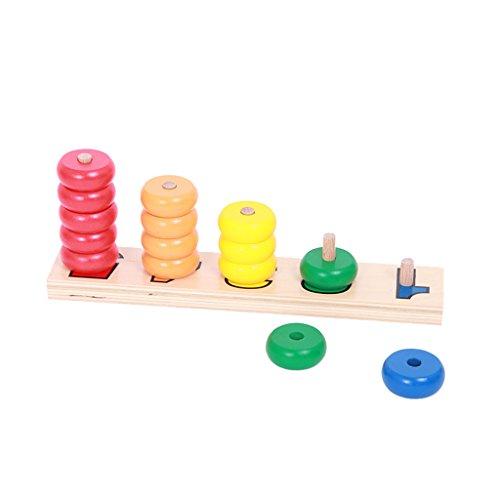 Anbau Beechwood Montessori Material - Counting Stacker