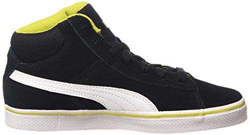 Puma Puma 1948 Mid Vulc Unisex-Erwachsene Hohe Sneakers Schwarz (black-white 01)