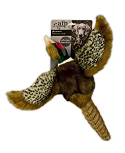 All For Paws Pheasant Dog Toy With Squeaker 10-inch 25 Cm by HEMAW