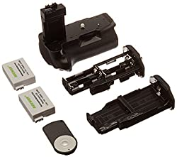 Neewer Replacement Battery Grip Bg-e8 For Canon 550d600d650d700d Rebel T2it3it4it5i+2*replacement Rechargeable 7.4v 1140mah Lp-e8 Battery+infrared Remote Controller