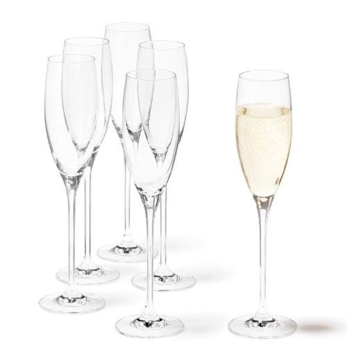 LEONARDO 081435 - Set/6 Sektgläser Cheers