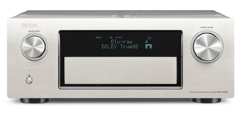 Denon AVR-X4000 SP 7.2 Surround Netzwerk AV-Receiver (Internetradio, 4k-Video, AirPlay, 3x HDMI, DLNA, HD-Audio, 200 Watt) silber