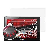 atFolix Schutzfolie passend für Lenovo A10-70 Folie, entspiegelnde & Flexible FX Bildschirmschutzfolie (2X)