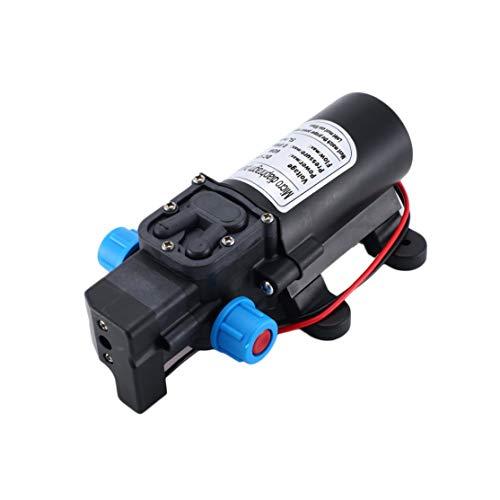 LouiseEvel215 DC 12V 60W Hochdruckmembran-Wasserpumpe Multifunktionsautomatikschalter 5L / min Großer Volumenstrom Selbstansaugende Pumpe -