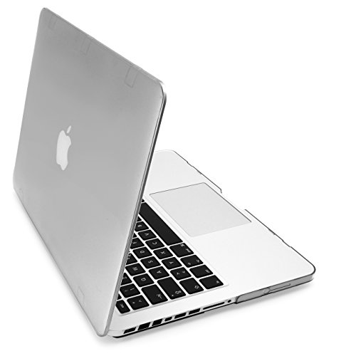 MyGadget Funda Mate para Apple Macbook Pro 13 Pulgadas A1278 - Antes de 2012 CD ROM - Cubierta Mac Slim Delgada Hard - Transparente