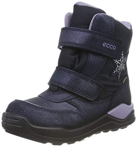 ECCO Baby Mädchen URBAN Mini Sneaker, Blau (Marine 5038), 25 EU