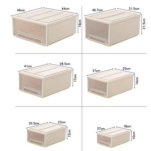 Sucastle,Wirklich nützliche Aufbewahrungsboxen sind leicht und robust und stapelbar,Plastik,46.7*31.5*21.5cm