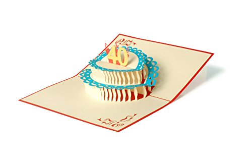 Geburtstagskarte, Glückwunschkarte, 40. Geburtstag, 40 Jahre, Glückwünsche, Karte zum Geburtstag, Handmade, edel, elegant, G14.2