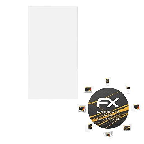atFolix Panzerfolie kompatibel mit Dell Vostro 5568 15 inch Schutzfolie, entspiegelnde & stoßdämpfende FX Folie (2X)