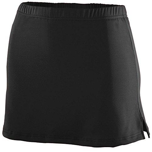 Augusta Sportswear WOMEN'S POLY/SPANDEX TEAM SKORT M Black by Augusta Sportswear (Skort Team)