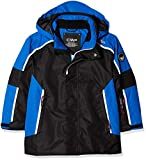CMP Kinder Feel Warm Flat 3.000 Skijacke, Nero/Blue, 164