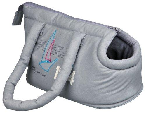 hundeinfo24.de Trixie 36235 Tasche Sailor, Hundetragetasche grau
