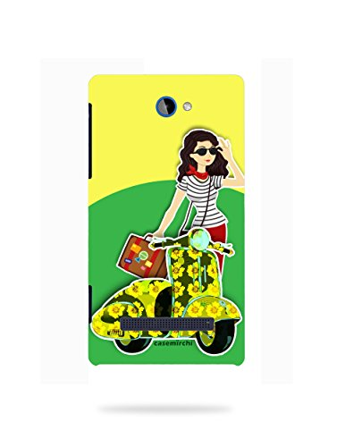 HTC 8S Printed Cover / CaseMirchi Printed Back Cover For HTC 8S  available at amazon for Rs.249
