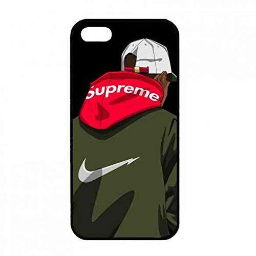 DIY Supreme Logo HandyhüLle,Supreme Phone Tasche FüR iPhone 5(S)/iPhone SE HüLle,Luxusmarke Supreme HandyhüLlen,iPhone 5(S)/iPhone SE SchutzhüLle