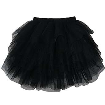 CK44 Girls Skirt Black Classic Tull Muti-layers Dancing Tutu Kids Clothes Size 9-10