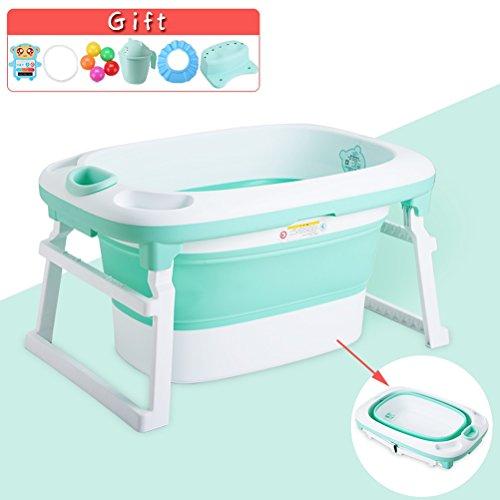 vbimlxft- Baby Badewanne falten Kinder Bad Eimer Badewanne Baby Pool Deluxe Neugeborenen zu Kleinkind Wanne kann sitzen und hinlegen Multifunktions Badewanne (größe : B)