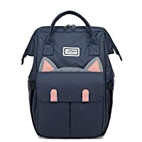 Fashion Versatile Backpack Student Campus Backpack Large Capacity Backpack Cute Girl School Bag@A