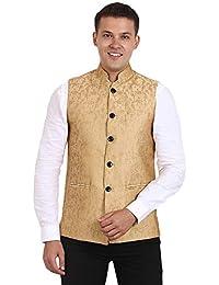 db0a9b6f4db Amazon.in  Golds - Nehru Jackets   Ethnic Wear  Clothing   Accessories