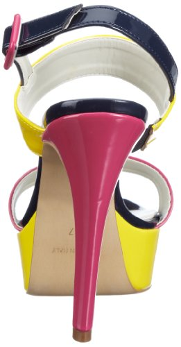 Andrea Conti 0933112 Damen Fashion Sandalen Gelb (gleb/kombiniert 206)