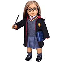 Ebuddy Hermione Granger- Inspired Doll Clothes Shoes for American Girl Dolls Bible