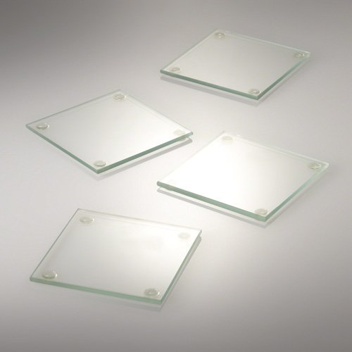Eastland Square Glass Coaster 4
