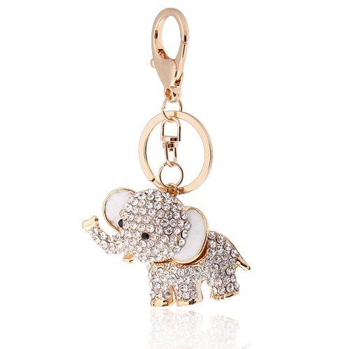 Crystal Lucky Elefante Llavero Bolsa o Encanto, increíbles navideños para Navidad