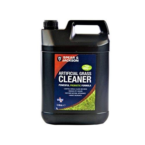 Spera and Jackson SJ0028 Limpiador probiótico de césped Artificial más desodorizante, Transparente, 5 litros