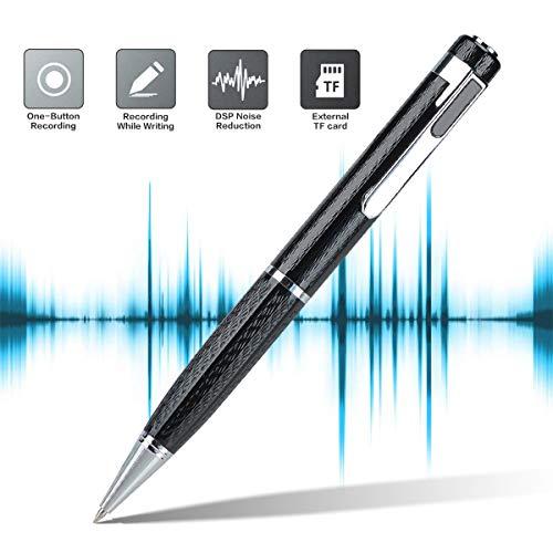 Lychee 8GB Digitales Diktiergerät Tragbare Kassettenspieler Aufnahmequalität Digitaler Voice Recorder, MP3, USB Wiederaufladbar,Geeignet für Meetings/Vorträge/ Interviews