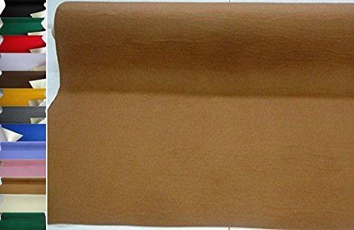 StoffBook EDEL BASTELFILZ FILZSTOFF SELBSTKLEBEND 50CM BREIT STOFF, D199 (camel)