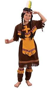 Reír Y Confeti - Ficcow017 - Disfraces para Niños - Indian Girl