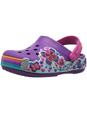 Crocs Crocband Fun Lab Graphic Clog Kids, Zuecos Unisex Niños