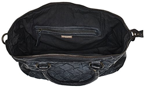 Taschendieb Td0735, Sacs portés main Noir - Schwarz (anthra)