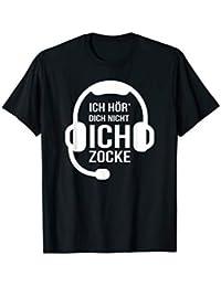 Ich Hör' Dich Nicht Ich Zocke Gamer Geschenk Idee Gaming T-Shirt