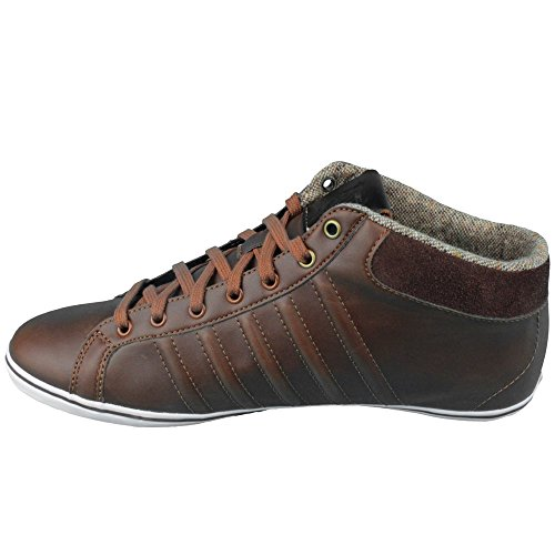 K-Swiss Hof Iv Mid Vnz, Baskets mode homme Marron - cowboy/espresso/white
