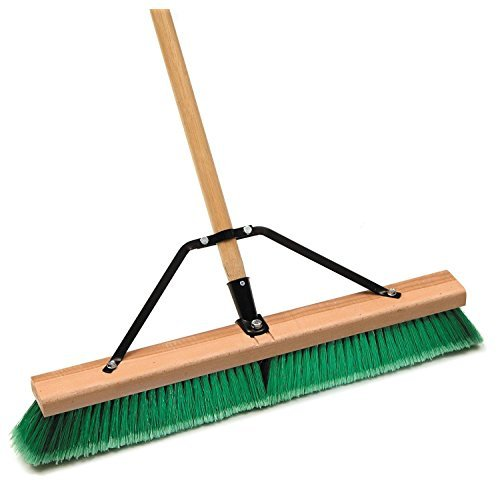 Cequent Laitner Unternehmen 1425AJ 24 in. Assembled glatte Oberfl-che Push-Broom (Push-broom 24 Zoll)
