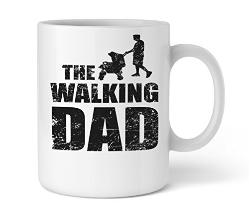 Shirtinator Geschenk-Tasse für Papa I The Walking Dad I Geschenkideen Vater Geburtstag Valentinstag