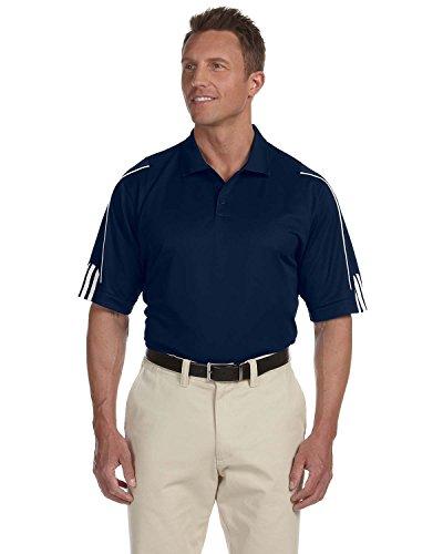 Adidas Polo texturiert ClimaCool Uni XL Marineblau / Weiß (Climacool Golf Polo)